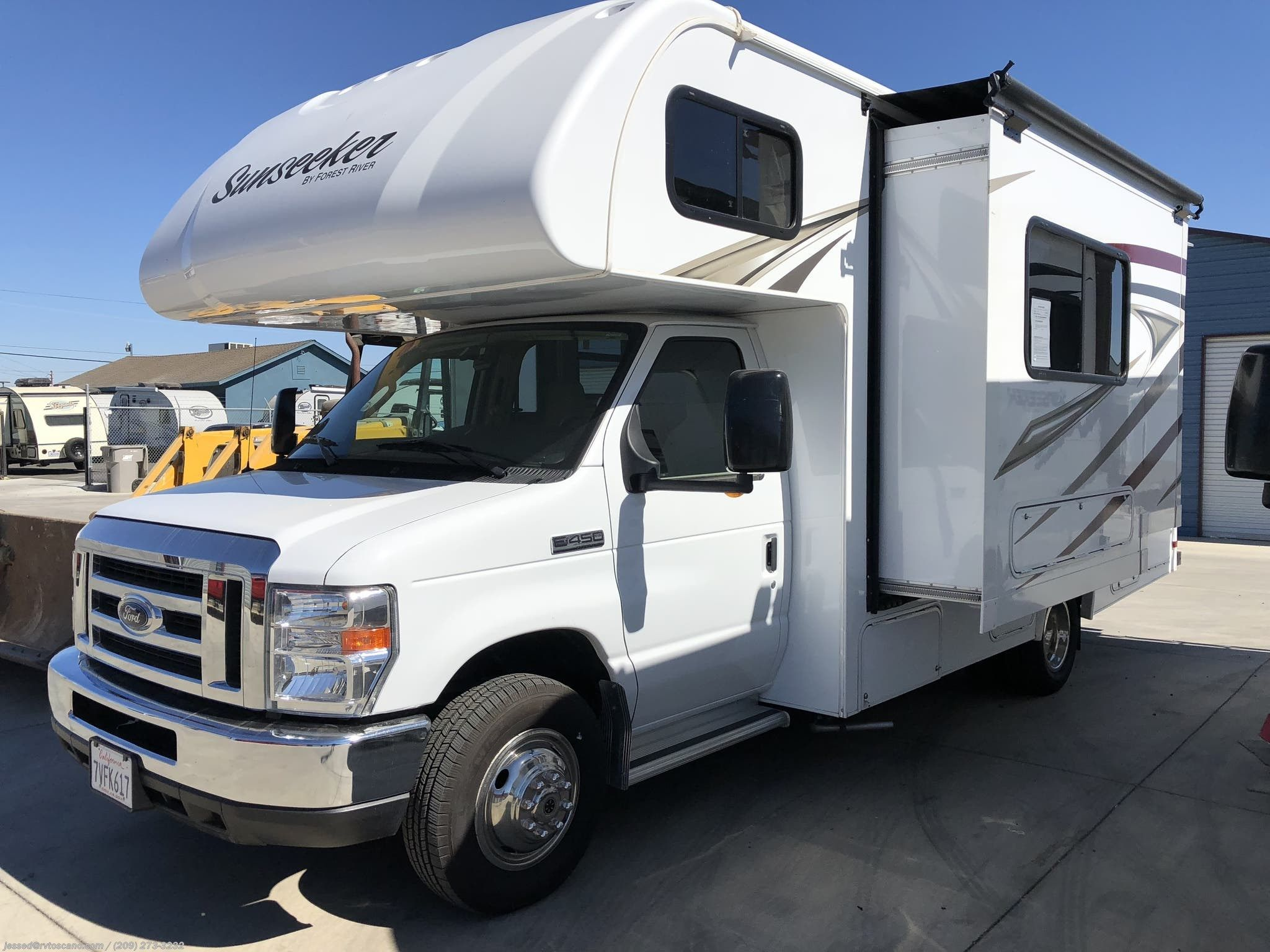 Sold Used 2017 Forest River Sunseeker 2290 Class C Motorhome Low