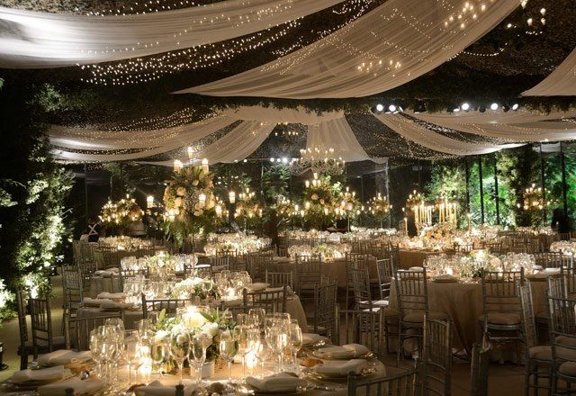 Iluminacion boda pergola bodas wedding decorations - Pergolas el bosque ...