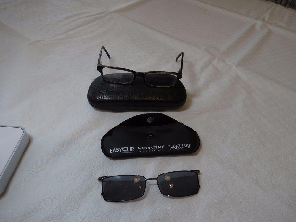 EasyClip Easy Clip Manhattan clip on sunglasses magnetic glasses 52 ...