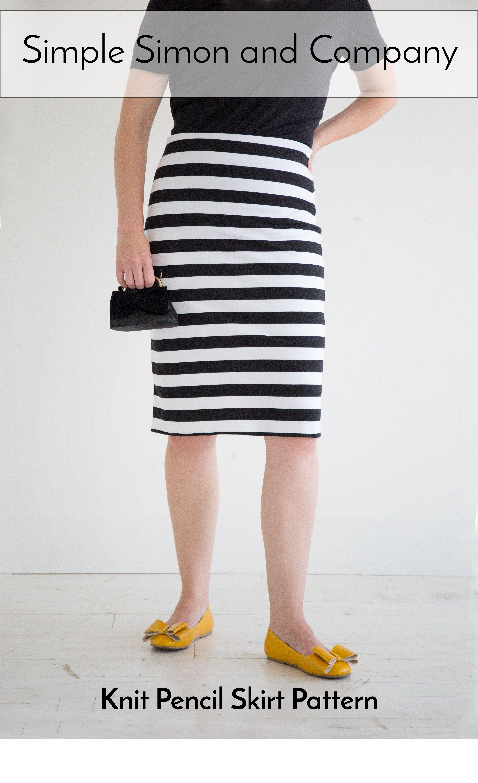 Knit Pencil Skirt Pattern Skirt A Thon Free Skirt Tutorials For
