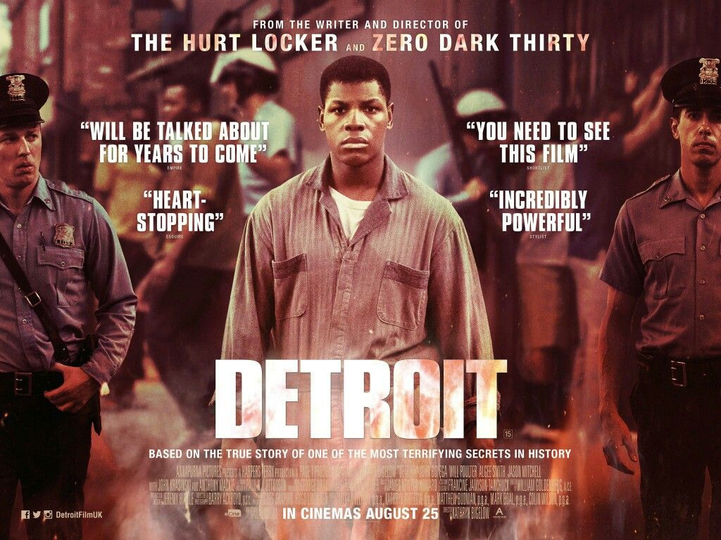 Image result for detroit film poster