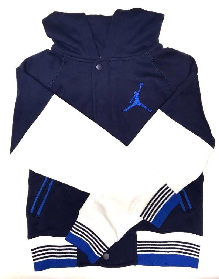c95501202 Jordan The Varsity Hoodie Jacket - Boys (Size Small) Midnight Navy ...