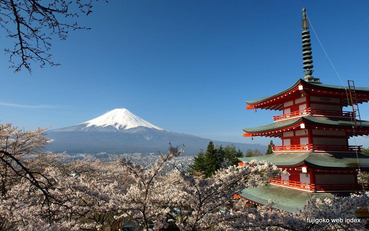 Arakura Sengen Shrine Chureito Pagoda Top Shrines In Japan - Japan tours