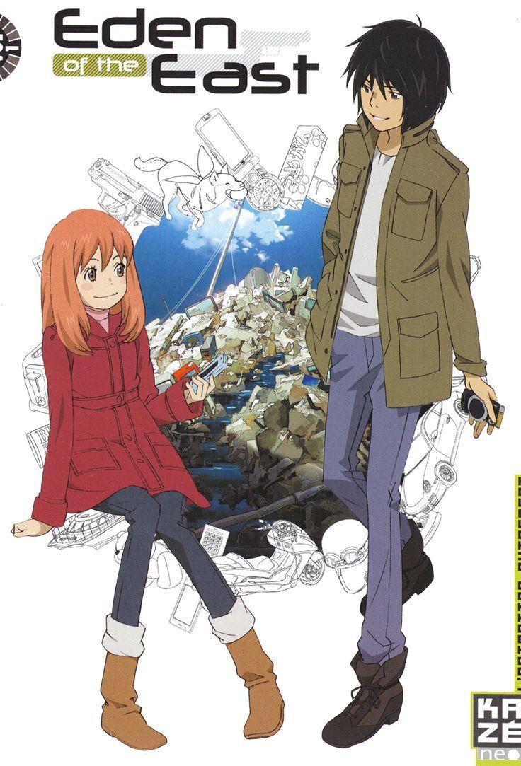 Higashi no Eden /// Genres Action, Comedy, Drama, Mystery