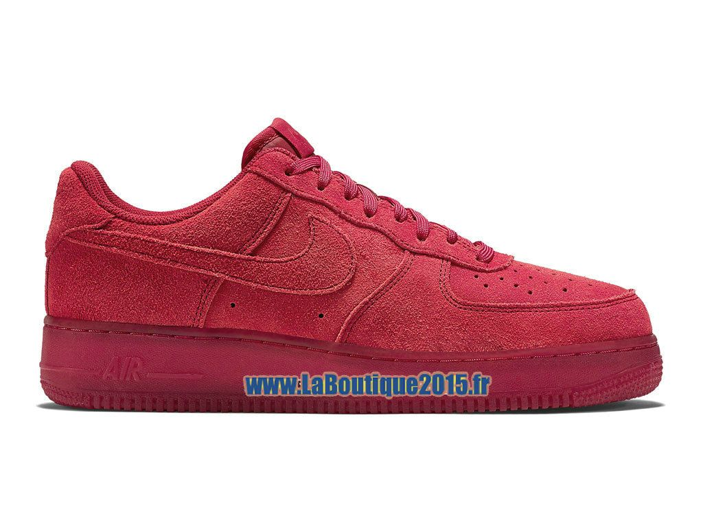 info pour 904dc 56cd3 nike air force 1 basse rouge
