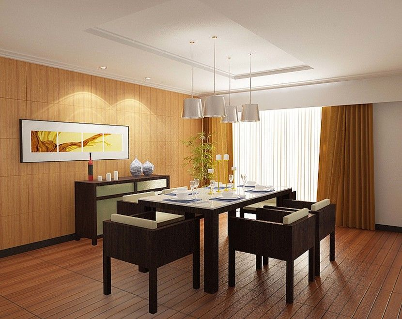 Amazing Extravagant Dining Room Lighting Modern Minimalist Table And Chairs