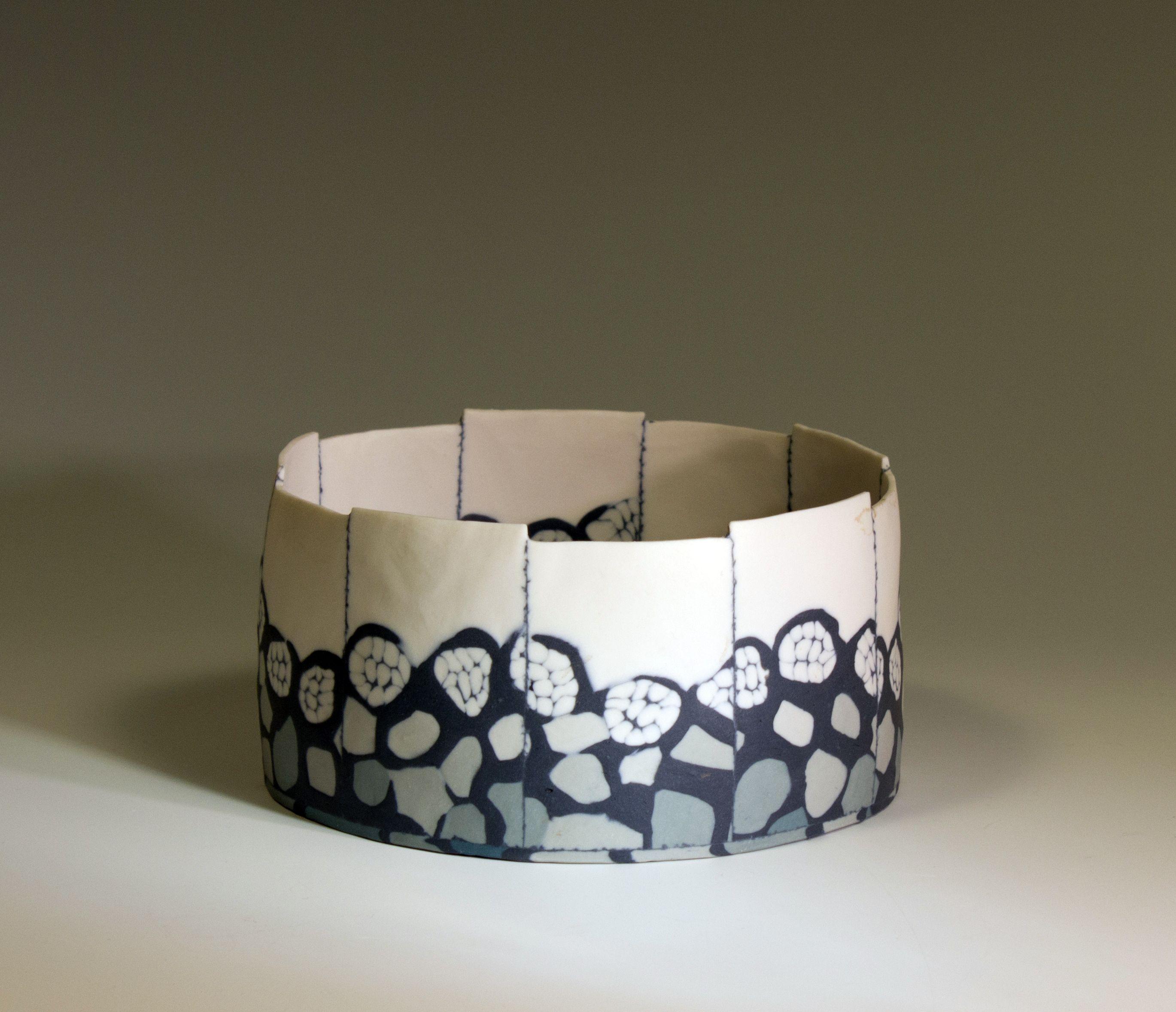 Misty Morning Ceramics Neriage Nerikomi Marbled