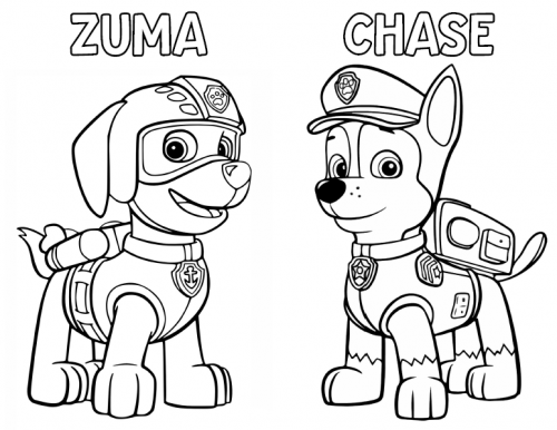Paw Patrol Coloring Activity Book FREE To Use Ellierosepartydesigns.com  Paw Patrol Coloring Pages, Paw Patrol Coloring, Zuma Paw Patrol