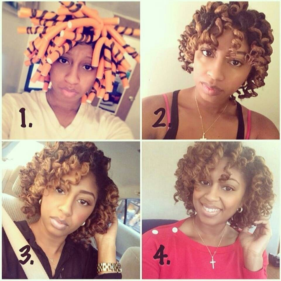 Pin By Qkwaisarah Bray Harvey On Hair Power Hair Styles Natural Hair Flexi Rods Beautiful Natural Hair