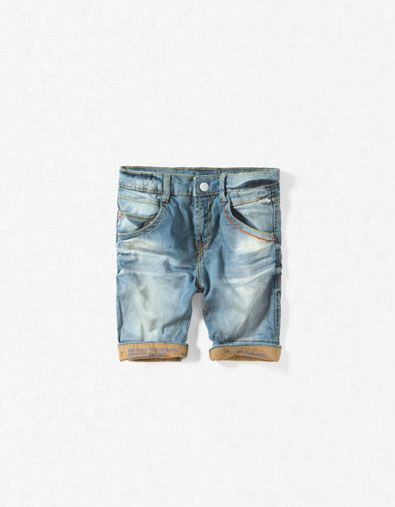 These are the denim Bermuda shorts you've been looking for forever. The search is officially over.