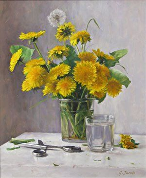 dandelion paintings - Google Search