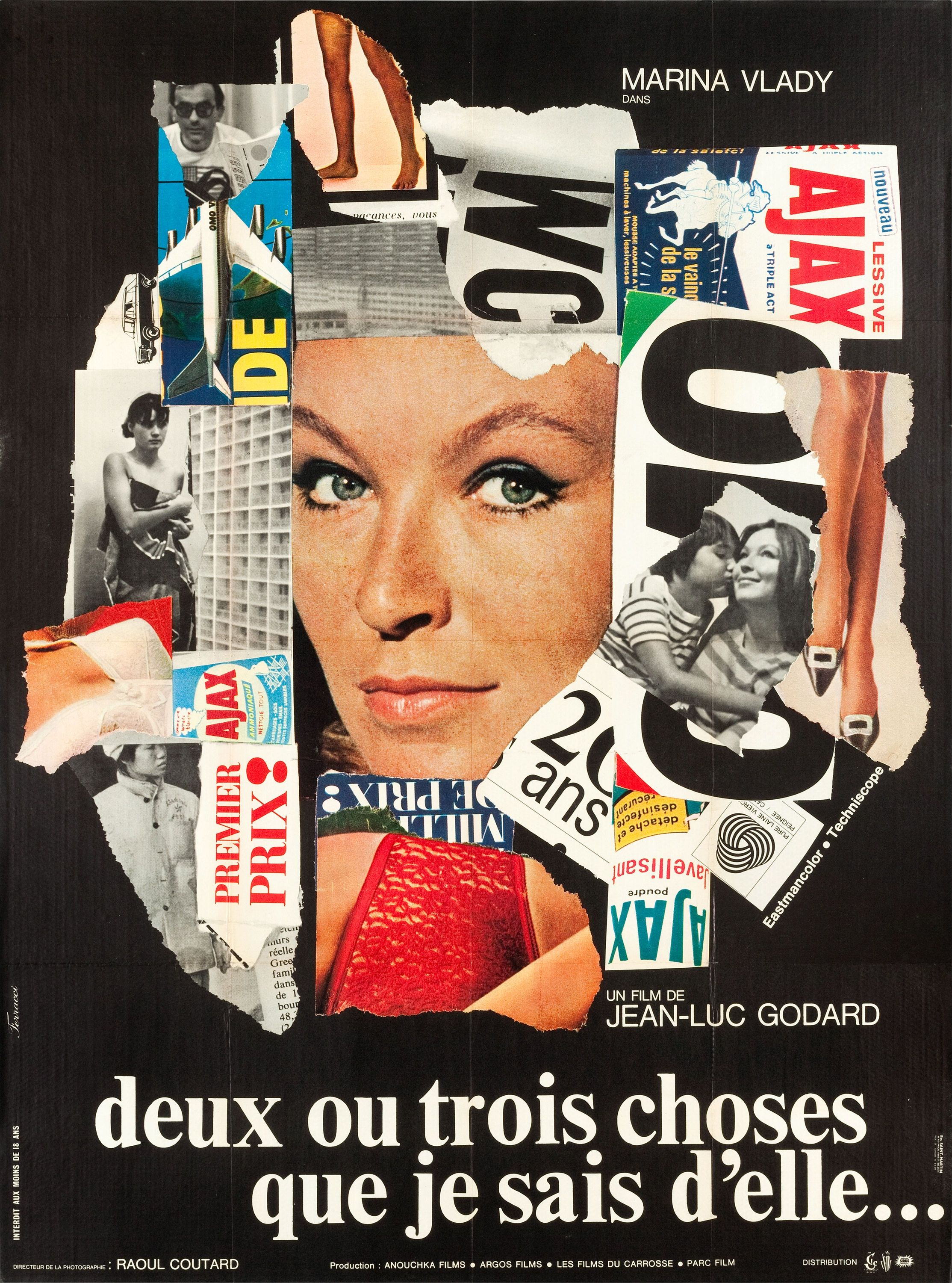 2 Or 3 Things I Know About Her Jean Luc Godard 1967 French