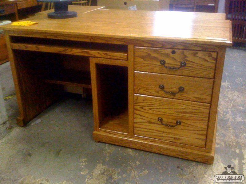 OD Solid Oak Traditional Desk Furniture Portland
