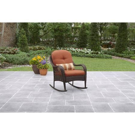 Better Homes And Gardens Azalea Ridge Porch Rocking Chair Walmart