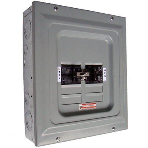 generac 6334 100 amp manual transfer switch single load for portable rh pinterest com