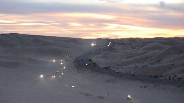 Glamis at dusk~