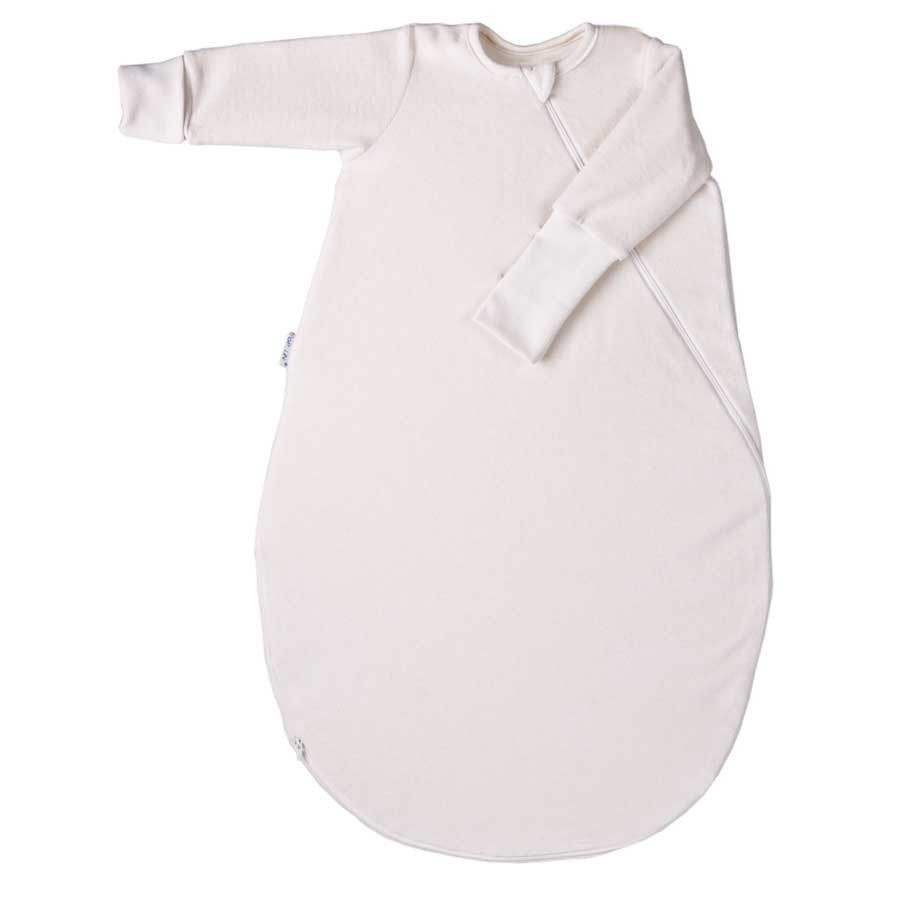 Organic Cotton Fleece Sleeping Bag with Sleeves - SUPER soft organic cotton fleece sleeping bags certified by the Global Organic Textiles Standard and the Oeko-tex 100.