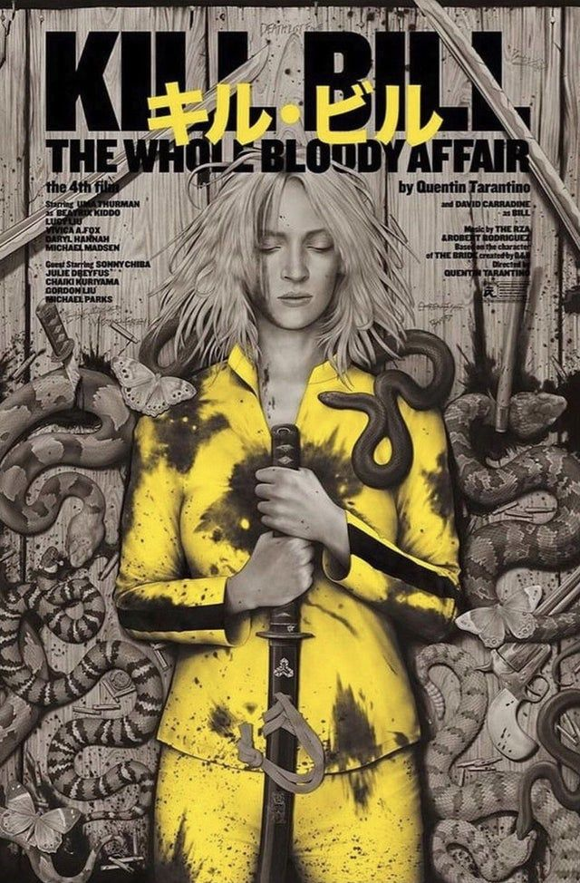 Kill Bill: The Whole Bloody Affair (2011) [1018 x 1550]