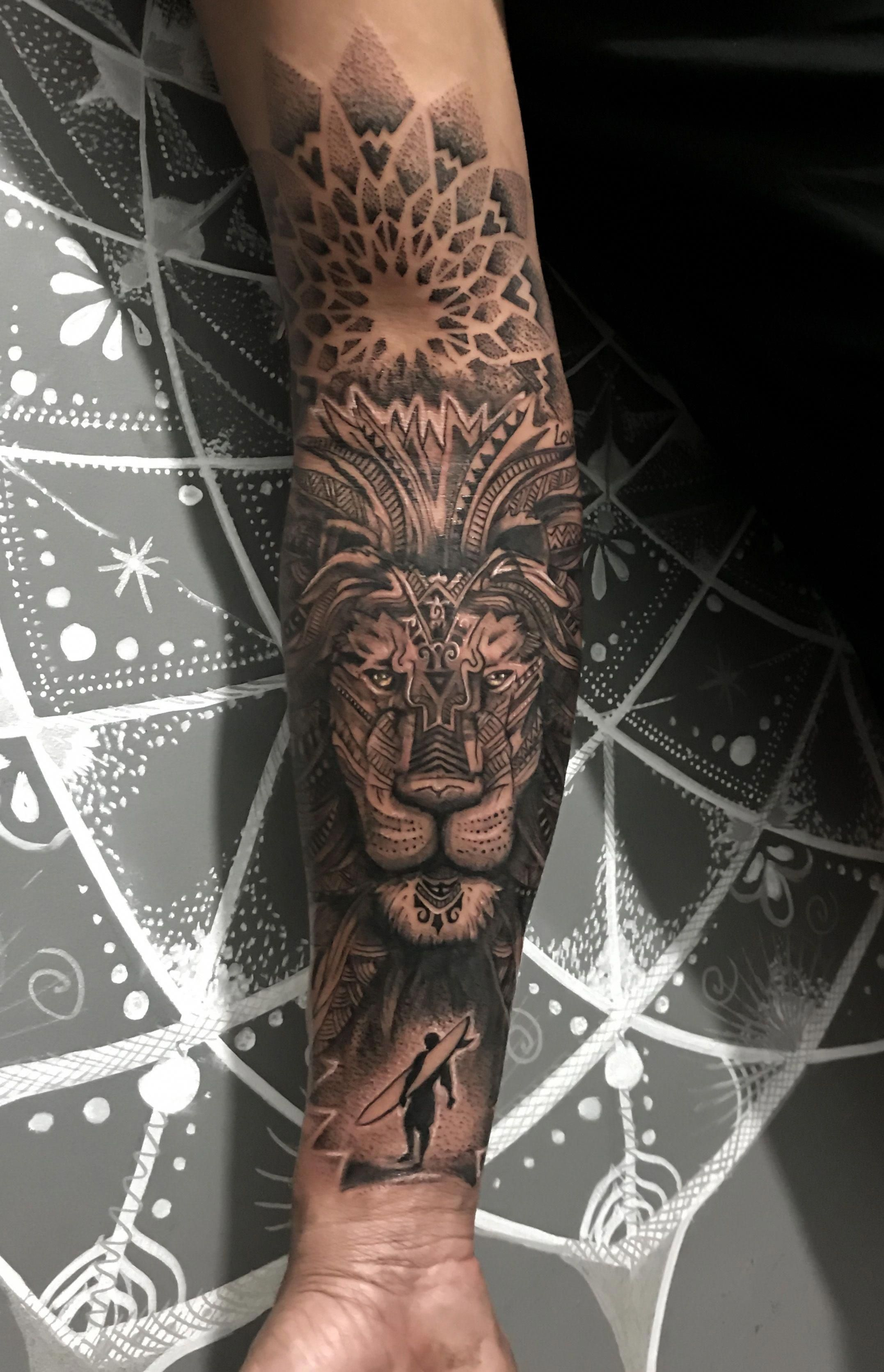 Tattoos For Men With Images Tattoos For Guys Animal Mandala Tattoo Tattoo Designs Men