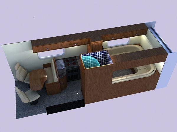 van conversion floor layouts   ... , Sports Home and Race Van ...