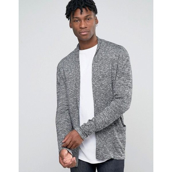 Shop Jack & Jones Originals Open Drape Knitted Cardigan at ASOS.