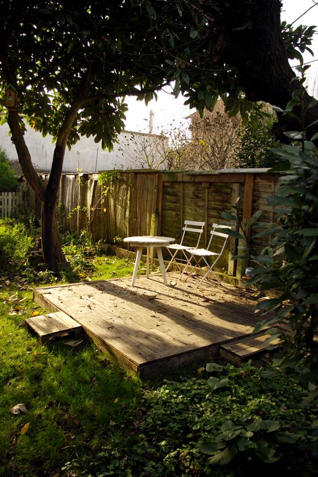 Notre terrasse en palettes un an plus tard   spice rabbits ...