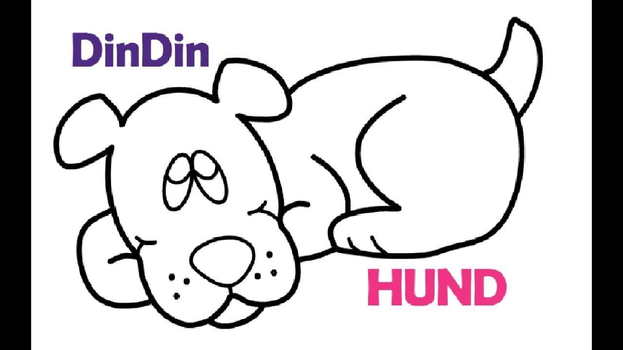 wie zeichnet man hund  tier malvorlagen für kinder  hund