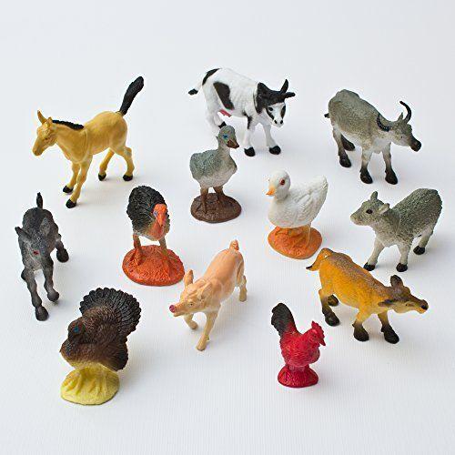 Mini Farm Animals 1 Dozen Farm Animal Toys Farm Animals For