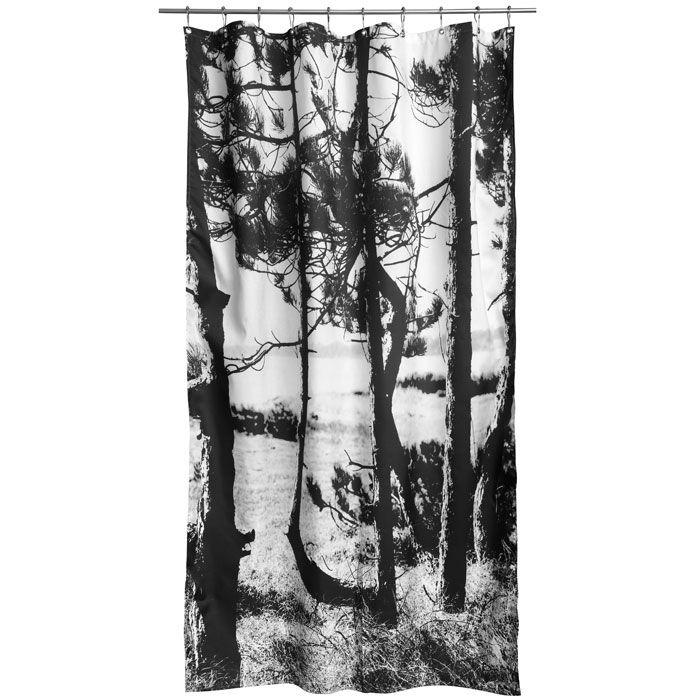 Scandinavian Design, By Nord Pine Forest Shower Curtain