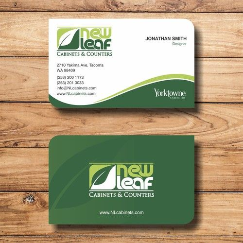 Business Cards Our Company Specializes In Residential Kitchen