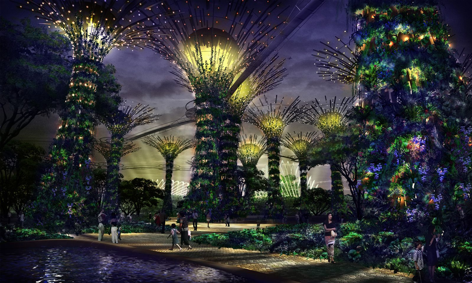 d81cfdb62feaaaaaf73f6574505c3efe - Gardens By The Bay Timings Light Show