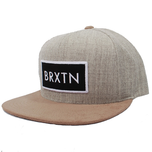 c6adca009d7 Brixton Rift Snapback Hat (Light Heather Grey Khaki)  27.95 ...