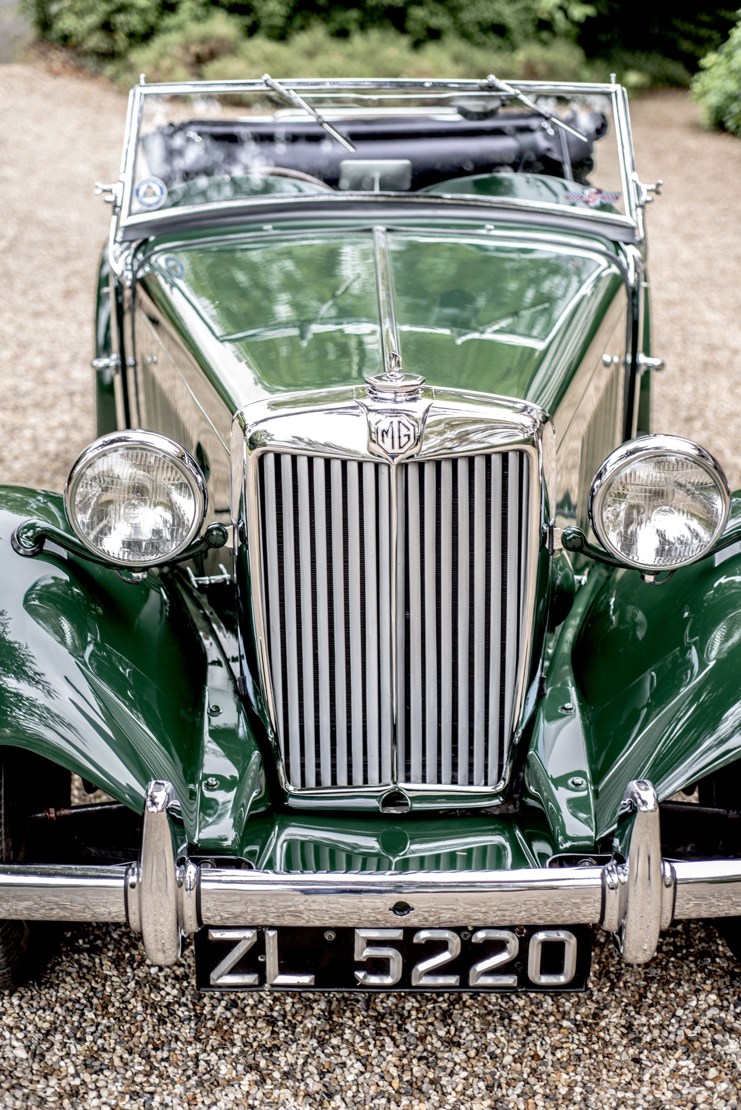 1951 MG TD Competition Abington MkII restored at Bridge Classic Cars ...