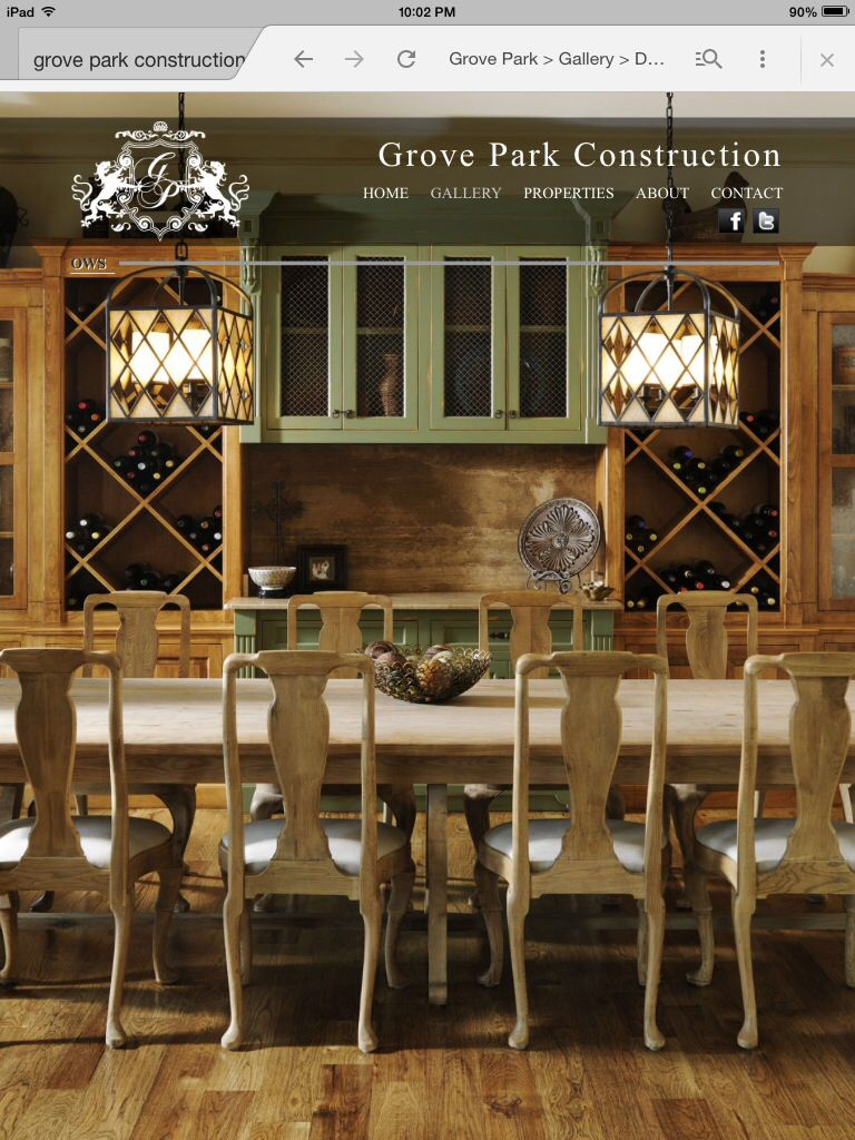 Love this grove park dining room new home ideas pinterest room