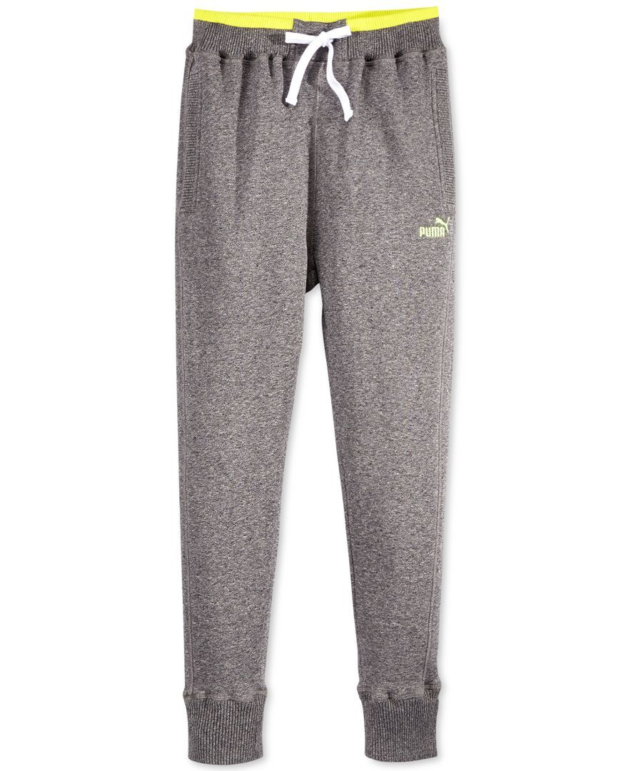 e7d8022adb47 Puma Boys  Fleece Jogger Pants