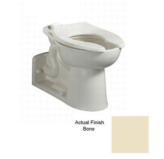 American Standard 3697 001 020 White Priolo One Piece Elongated Rear Outlet Toilet Bowl With Rear Spud Less Seat Faucetdirect Com Toilet Bowl Toilet Bathroom Toilets American standard rear outlet toilet