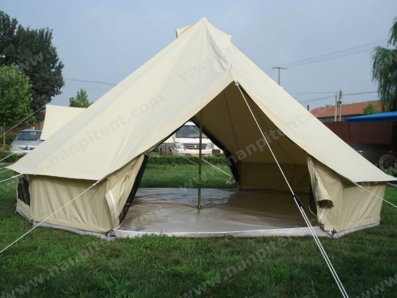 Outside Bell Tent Canvas Tent Yurts For C&ing And Outdoors Activities & Outside Bell Tent Canvas Tent Yurts For Camping And Outdoors ...