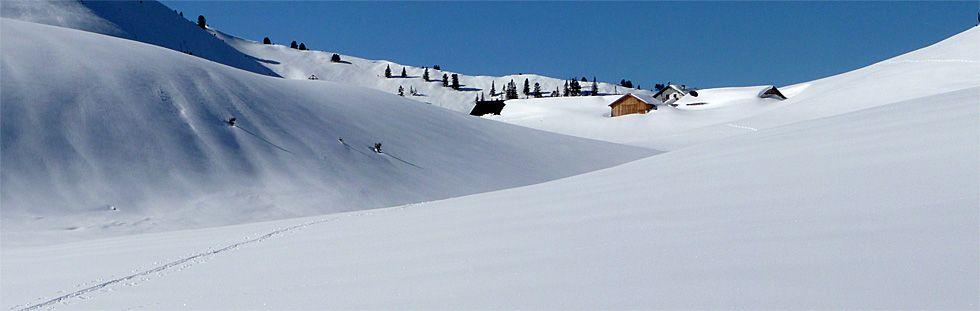 Schneeschuhtour zur Raaz Alpe