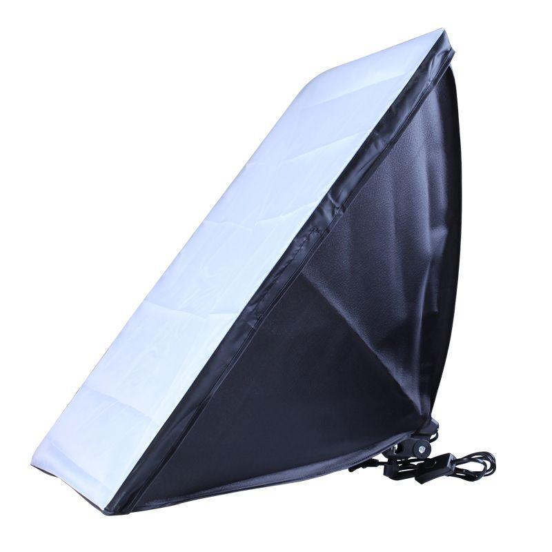 New 50*70cm Photograph Soft Light Box Photograph Studio Power socket Photo Studio Square Folding