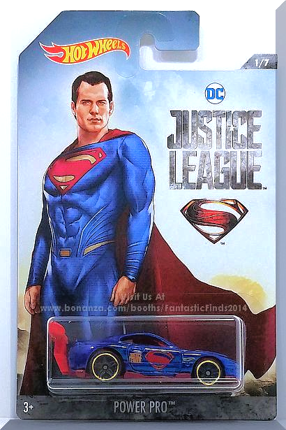 Hot Wheels DC Justice League Street Shaker Collector car 2//7