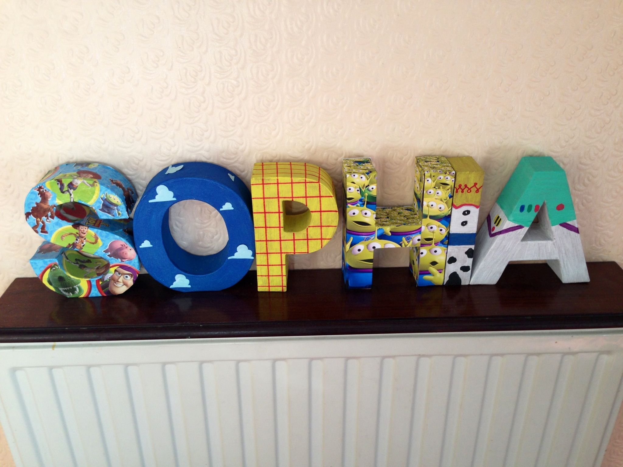 Toy story letters | Some day | Toy story bedroom, Toy story room