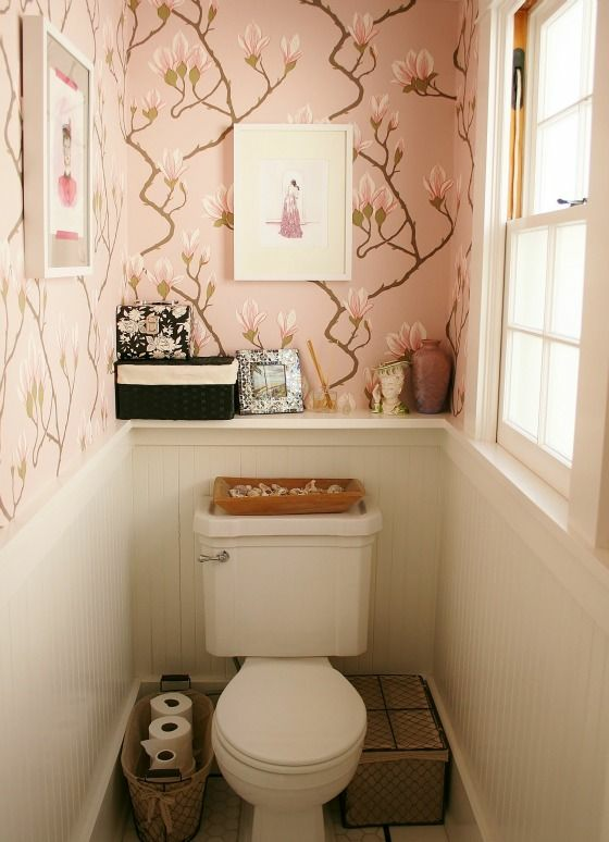 Attractive Bathroom Decoration Diy Styles Bathroomdecorstyles Small Toilet Room Small Space Bathroom Water Closet Decor