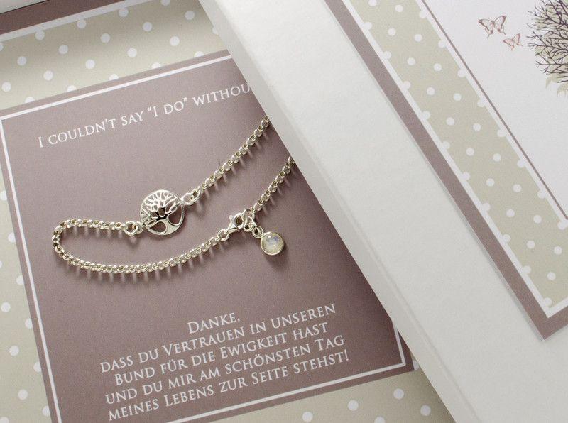Kleidung & Accessoires Armband Für Trauzeugin,brautschwester,brautjungfer Hochzeitschmuck Eine GroßE Auswahl An Farben Und Designs