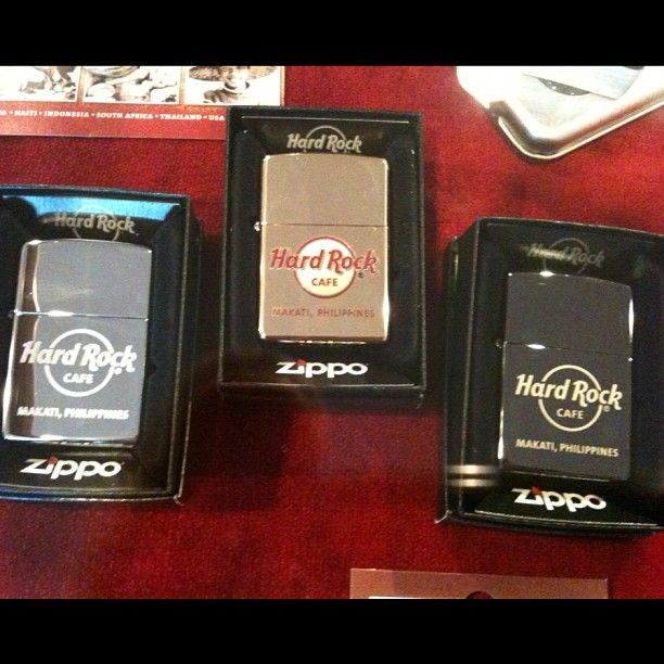 Hard Rock Cafe Zippo   Pictures From The Philippines   Hard rock
