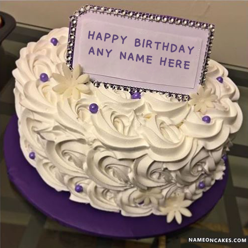 Write Anyone Name On Lovely Butter Cake For Boys Birthday And Celebrate Their In Unique Way Best Editor Happy Cakes