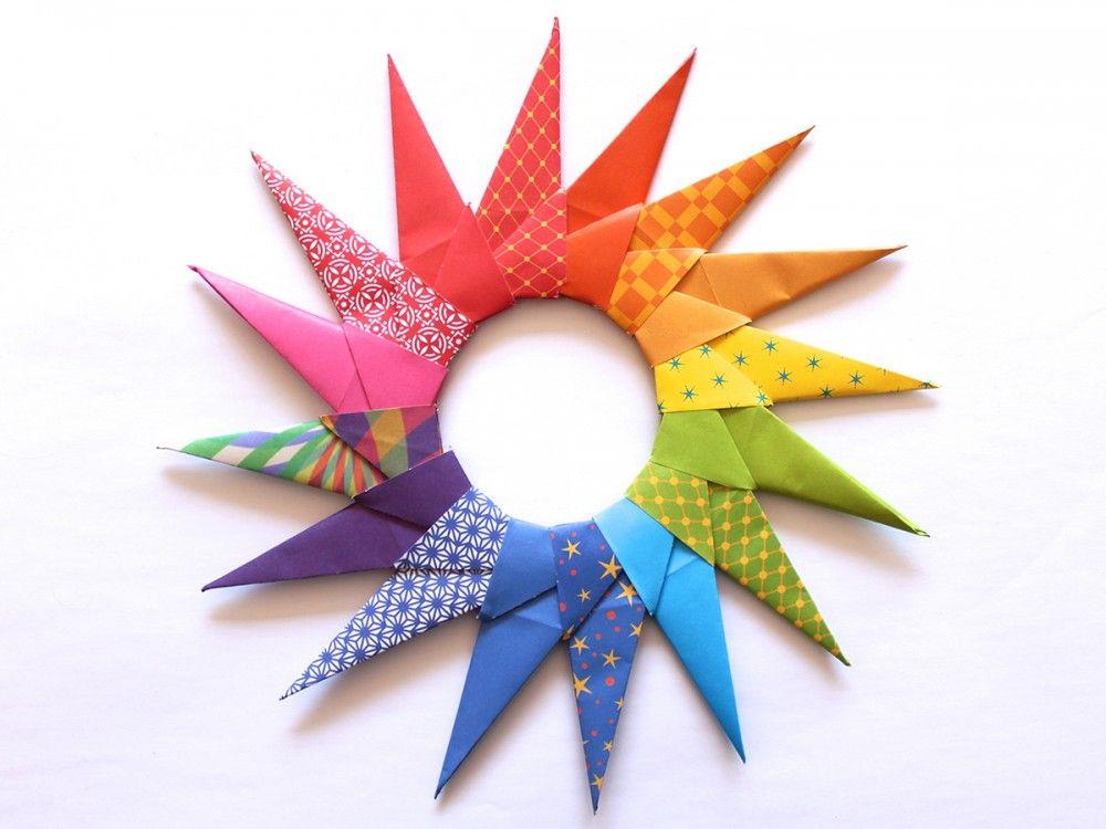 Origami Sun Pinterest Likes Pinterest Christmas