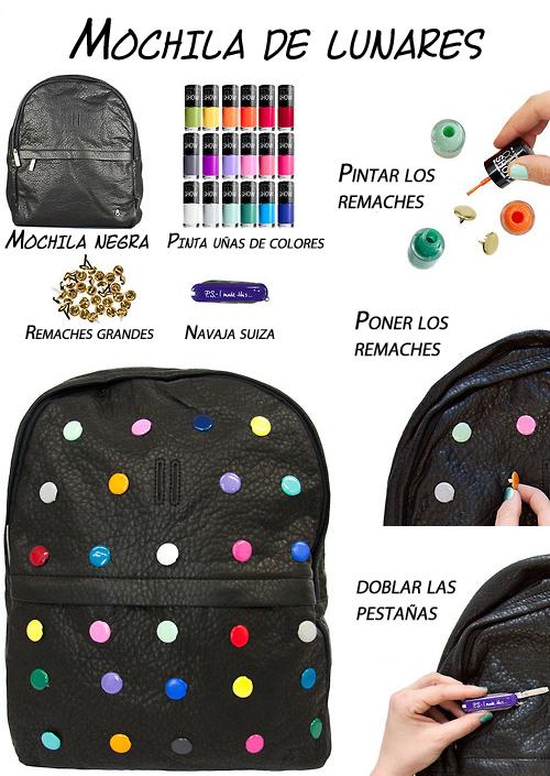 Decorar la mochila   BlogZOCO   Decoración de mochilas
