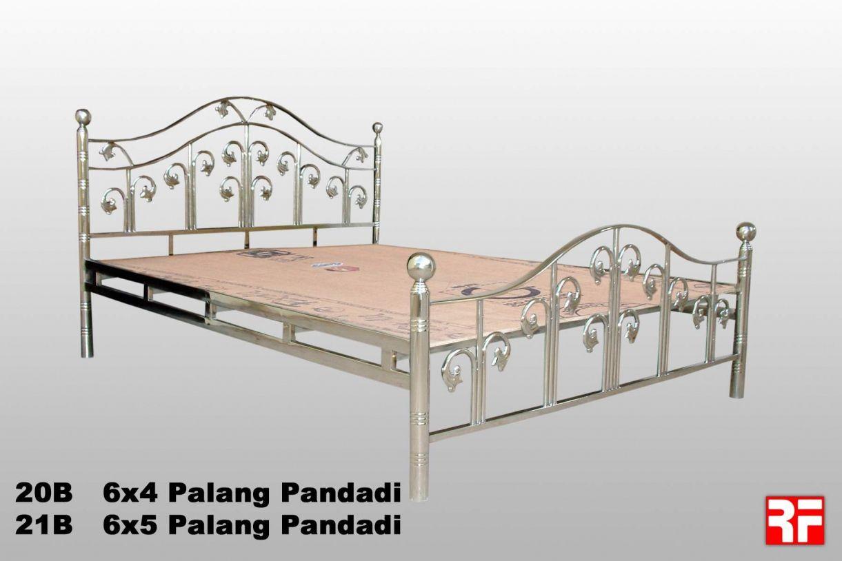 Pin oleh luciver sanom di bedroom interior design modern - Stainless steel bedroom furniture ...