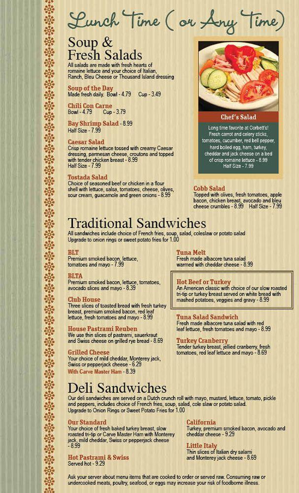 restaurant menu graphic design services for fine dining