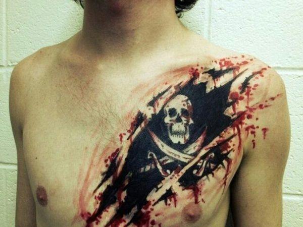 40 Fantastic Pirate Tattoo Designs 36
